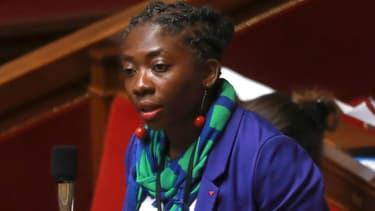 La députée de la France insoumise à l'Assemblée le 26 juillet 2017.