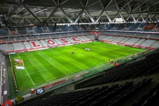 Le stade Pierre-Mauroy à Lille, le 1er avril 2018