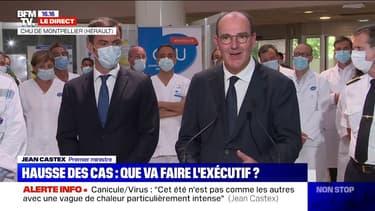 """Coronavirus: selon Jean Castex, """"la situation épidémiologique évolue dans le mauvais sens"""""""