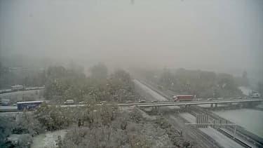 Chutes de neiges dans le Sud-Est.