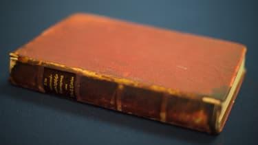 L'exemplaire de Mein Kampf vendu aux enchères avait appartenu à Adolf Hitler.