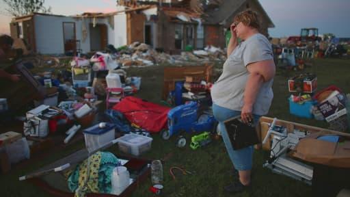 El Reno, petite ville de l'Oklahoma, a été balayé.