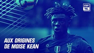 Moise Kean lorsqu'il jouait pour la Juventus