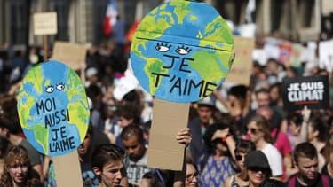 La marche pour le climat de septembre 2019, à Paris