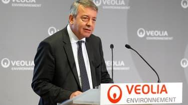 Antoine Frérot espère trouver des soutiens pour poursuivre sa stratégie de désendettement (Photo : Reuters)