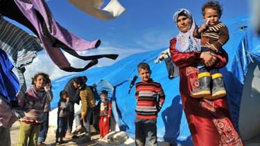 Plus de 4 millions de personnes ont été déplacées depuis le début du conflit syrien, en mars 2011.