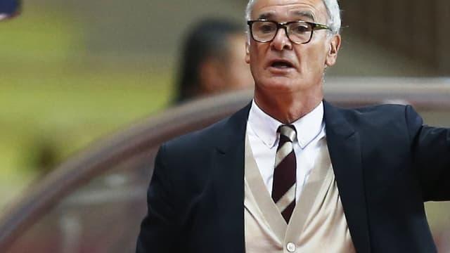 Claudio Ranieri, l'entraîneur de Monaco
