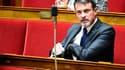Manuel Valls à l'Assemblée nationale le 10 octobre 2017