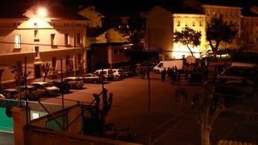 La caserne de gendarmerie d'Ajaccio, visée le 5 décembre par des tirs de roquette.