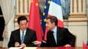 A l'occasion de la visite à Paris du président chinois Hu Jintao et de sa rencontre avec Nicolas Sarkozy, des grandes entreprises françaises, dont Airbus, Areva ou Total, ont signé des contrats et accords avec des entreprises chinoises pour 20 milliards d