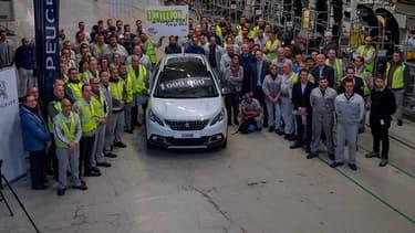 La Peugeot 2008 vient de franchir la barre du million d'exemplaires vendus, un des succès les plus marquants de PSA cette année.