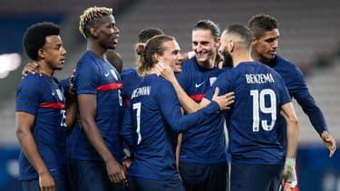 Antoine Griezmann, Karim Benzema et les Bleus