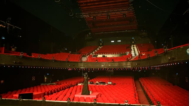 La salle de l'Olympia, à Paris