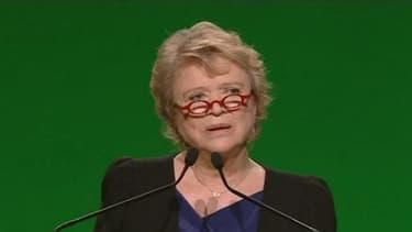 Eva Joly lors de la campagne présidentielle de 2012