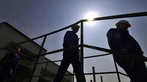 Parmi les métiers enlevés de la liste, plusieurs font partie du secteur BTP...