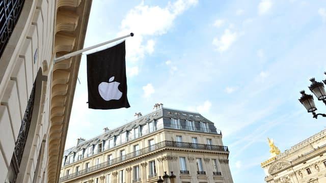 Avec une surface de 1.300 m2, ce magasin sera le grand Apple Store de Paris.