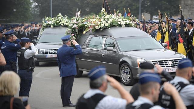 Les obsèques ont eu lieu au centre funéraire de Liège.