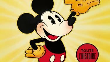 Couverture du livre Walt Disney's Mickey Mouse: Toute l'histoire