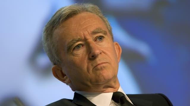 Bernard Arnault s'est gardé de fixer des objectifs trop ambitieux pour LVMH en 2014.