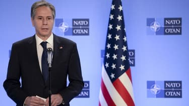 Le chef de la diplomatie américaine Antony Blinken le 14 avril 2021