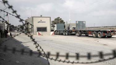 Le poste de Kerem Shalom, principal point de passage de marchandises entre Israël et la bande de Gaza