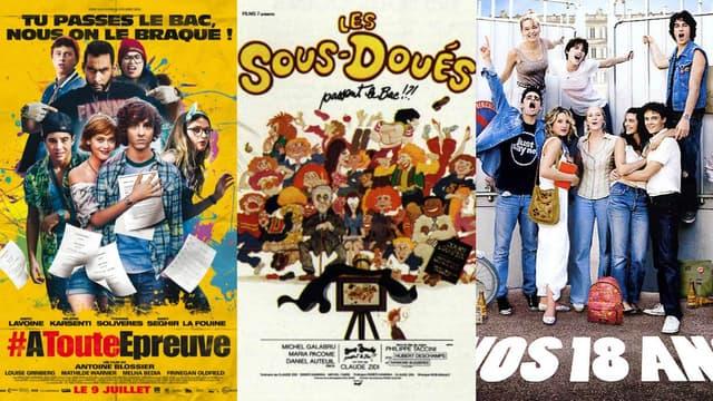 """""""À toute épreuve"""", """"Les sous-doués"""" ou encore """"Nos 18 ans"""" font partie des films s'intéressant à l'incontournable épreuve du bac."""