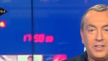 """Jean-Marc Morandini sur le plateau de """"Morandini Live"""""""