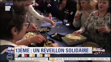 Un réveillon solidaire dans le 13e arrondissement