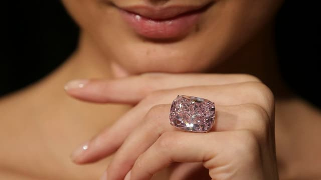 Le Raja Pink était évalué entre 20 et 30 millions de dollars