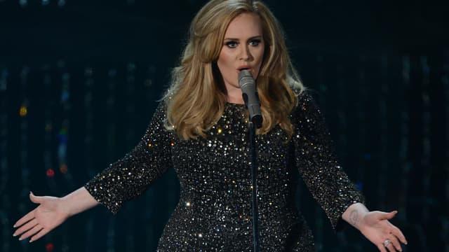 La chanteuse Adele.