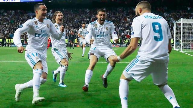 La joie madrilène face au Bayern Munich - AFP