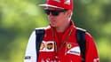 Kimi Räikkönen reste chez Ferrari en 2016