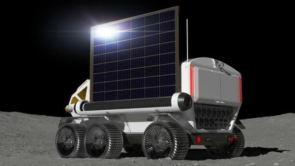 Un panneau solaire sera également déployable pour alimenter les équipements électriques de l'engin.