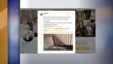 Une internaute toulousaine a publié une vidéo tournée samedi dans sa cage d'escalier où on entend les cris de sa voisine.