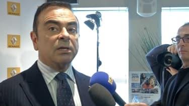 Carlos Ghosn, patron de Renault Nissan