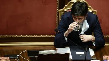 Le ministre de la Santé italien Roberto Speranza, en janvier 2021