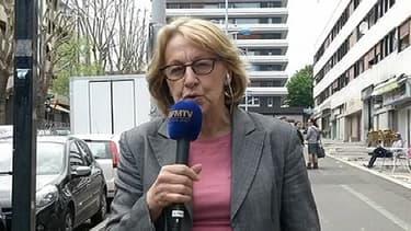 La ministre de la Réforme de l'Etat Marylise Lebranchu, lundi après-midi à Sarcelles (Val-d'Oise).