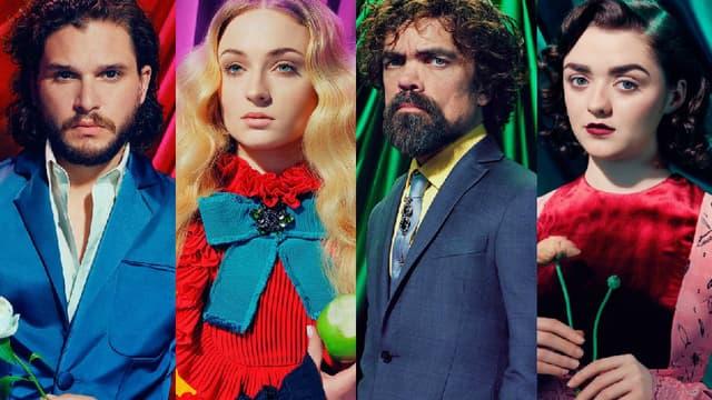 """Les acteurs de """"Game of  Thrones"""" ont quitté l'univers de la série le temps d'une séance photo"""
