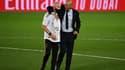 David Bettoni et Zinedine Zidane