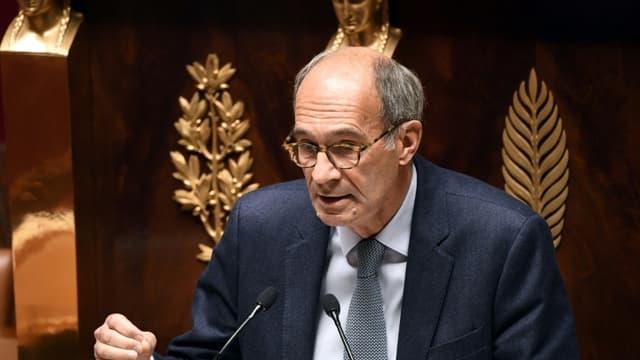 Le député LR et ex-ministre Eric Woerth à l'Assemblée nationale à Paris, le 12 octobre 2020 (photo d'illustration)