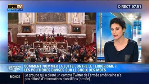 Politique Première: Comment nommer la lutte contre le terrorisme ? - 13/01