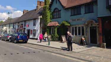 Amesbury, tranquille bourgade du sud de l'Angleterre où les deux Britanniques ont été exposés à l'agent innervant (image d'illustration)