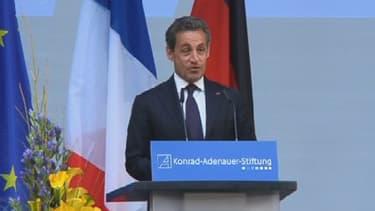 Nicolas Sarkozy vendredi