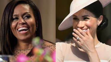 Michelle Obama et Meghan Markle.