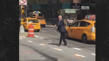 Harrison Ford dans les rues de New York, le 10 septembre 2017