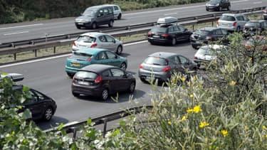 Un accident a eu lieu ce vendredi matin sur l'autoroute A43 (photo d'illustration)