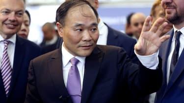 Li Shufu, le patron du chinois Geely.