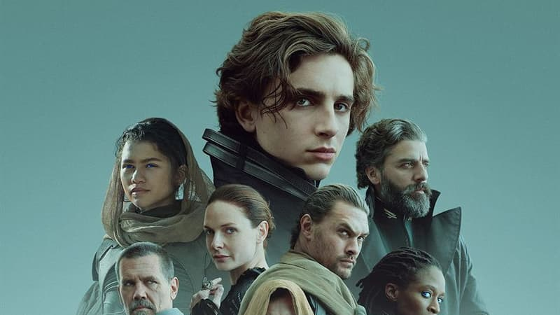 """""""Dune"""" prend la tête du box-office français avec plus d'un million d'entrées en une semaine"""