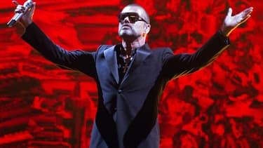 George Michael sur scène à Paris