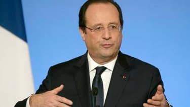 François Hollande présente, ce mardi 21 janvier, ses voeux aux milieux socio-professionnels